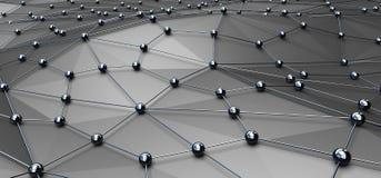 Networking i internetów Sieć concept Zdjęcie Royalty Free