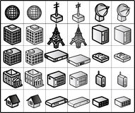 Networking Icons #01. Icons for network structure. #networking architecture royalty free illustration