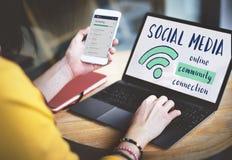 Networking komunikacyjny związek Dzieli pomysłu pojęcie zdjęcia royalty free