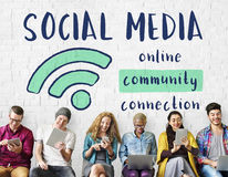 Networking komunikacyjny związek Dzieli pomysłu pojęcie zdjęcie royalty free