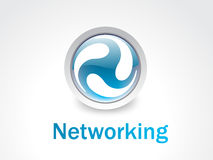 Networking logo Stock Photo