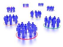 Networking ludzie Obrazy Royalty Free