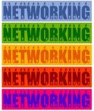 Networking ludzie ilustracja wektor