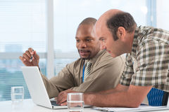 Networking at the office Stock Images