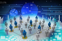 Networking people Royalty Free Stock Photo