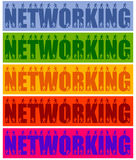 Networking people Royalty Free Stock Photography