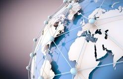 Networking pojęcie ilustracji