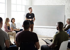 Networking Seminar Meet Ups Concept Royalty Free Stock Photos