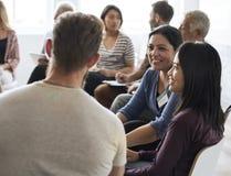 Networking Seminar Meet Ups Concept. Networking Seminar Meet Ups Discussion royalty free stock photos