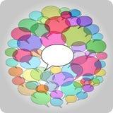networking socjalny Zdjęcia Stock