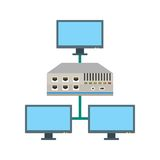 Networking Switch Stock Photography