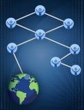 Networking / Teamwork Royalty Free Stock Photos