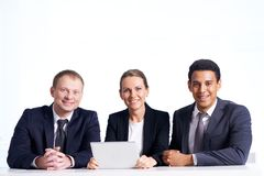 Networking together Stock Photo