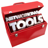 Networking Tools Connections Relationships Toolbox Stock Images