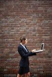 Networking w drodze zdjęcie stock