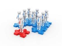 Networking, związek, ogólnospołeczne sieci, komunikacje, lider, przywódctwo pojęcie 3 d czynią ilustracji