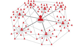 Networking2 social Image libre de droits