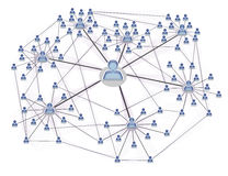 networking3 κοινωνικός Στοκ φωτογραφία με δικαίωμα ελεύθερης χρήσης