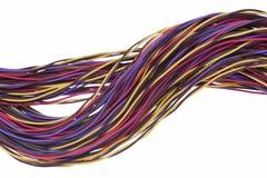 NetworNetwork-Kabel und Drähte, Konzept der Datenübertragung stockbilder