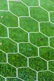 Netz auf grünem Gras Stockfoto