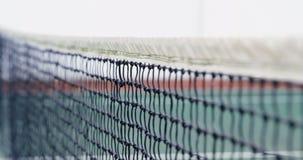 Netz auf Tennisplatz 4k