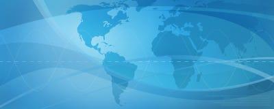 Netz, blauer Hintergrund 1 Lizenzfreie Stockfotografie