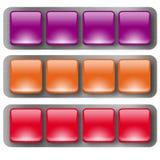 Netz buttons2 Lizenzfreie Stockfotos