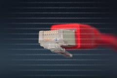 Netz conexion Lizenzfreies Stockbild