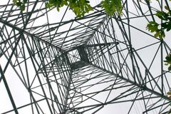 Netz der Energie Stockfotos