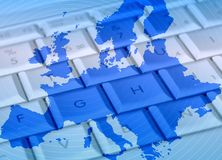 Netz Europa Stockfotografie