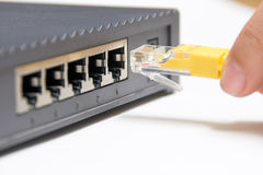 Netz-Kabel Lizenzfreies Stockbild