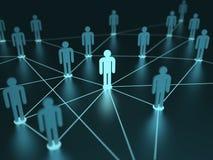 Netz-Leute Lizenzfreie Stockfotos