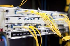 Netz-Schalter Stockbild
