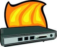 Netz-Schalter lizenzfreie abbildung