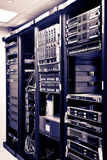 Netz-Server-Zahnstangen lizenzfreie stockbilder