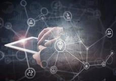 Netz-Sicherheits-Konzept Stockfoto