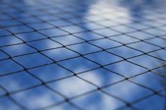 Netz und Himmel Lizenzfreies Stockfoto