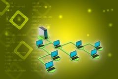 Netz- und Internet-Kommunikationskonzept Lizenzfreie Stockfotos