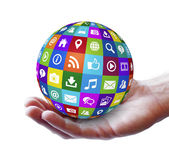 Netz-und Internet-Social Media Lizenzfreie Stockfotografie