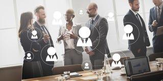 Netz-Vernetzung teilen Cummunicatin-Verbindungs-Konzept mit stockbilder
