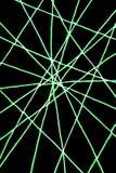 Netz von Grünen Grenzen Stockfotografie