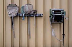 Netze auf einer Wand Lizenzfreies Stockfoto