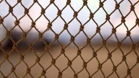 Netze auf unscharfem Hintergrund stockfotos