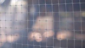 Netze auf unscharfem Hintergrund lizenzfreies stockbild