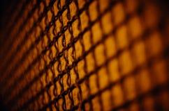 Netze eines Orangendrahtes lizenzfreie stockfotos