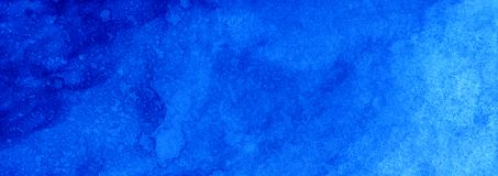 Netzfahnenmarine- oder -marineblauaquarellsteigungs-Füllehintergrund Watercolourflecke Zusammenfassung gemalte Schablone mit Papi