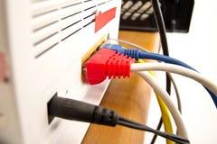 Netzkabel lizenzfreies stockbild
