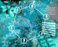 Netznetz Stockfoto