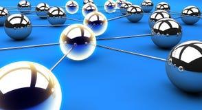 Netzpfad Lizenzfreies Stockfoto