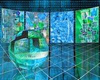 Netzraum Lizenzfreies Stockfoto